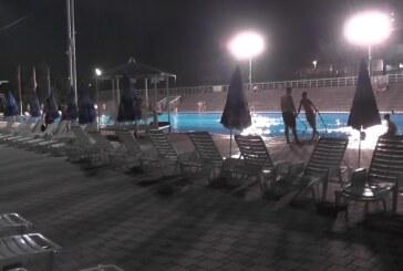Počelo noćno kupanje na kruševačkim bazenima