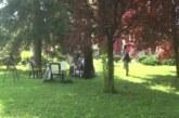 """U okviru manifestacije """"Stanislav Binički"""" porti crkve Svetog Prokopija u Jasici održana jednodnevna likovna kolonija"""