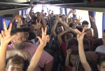 Osnovci iz Kruševca (polaznici Škole fudbala) – otputovali na utakmicu Crvena zvezda – Kariat