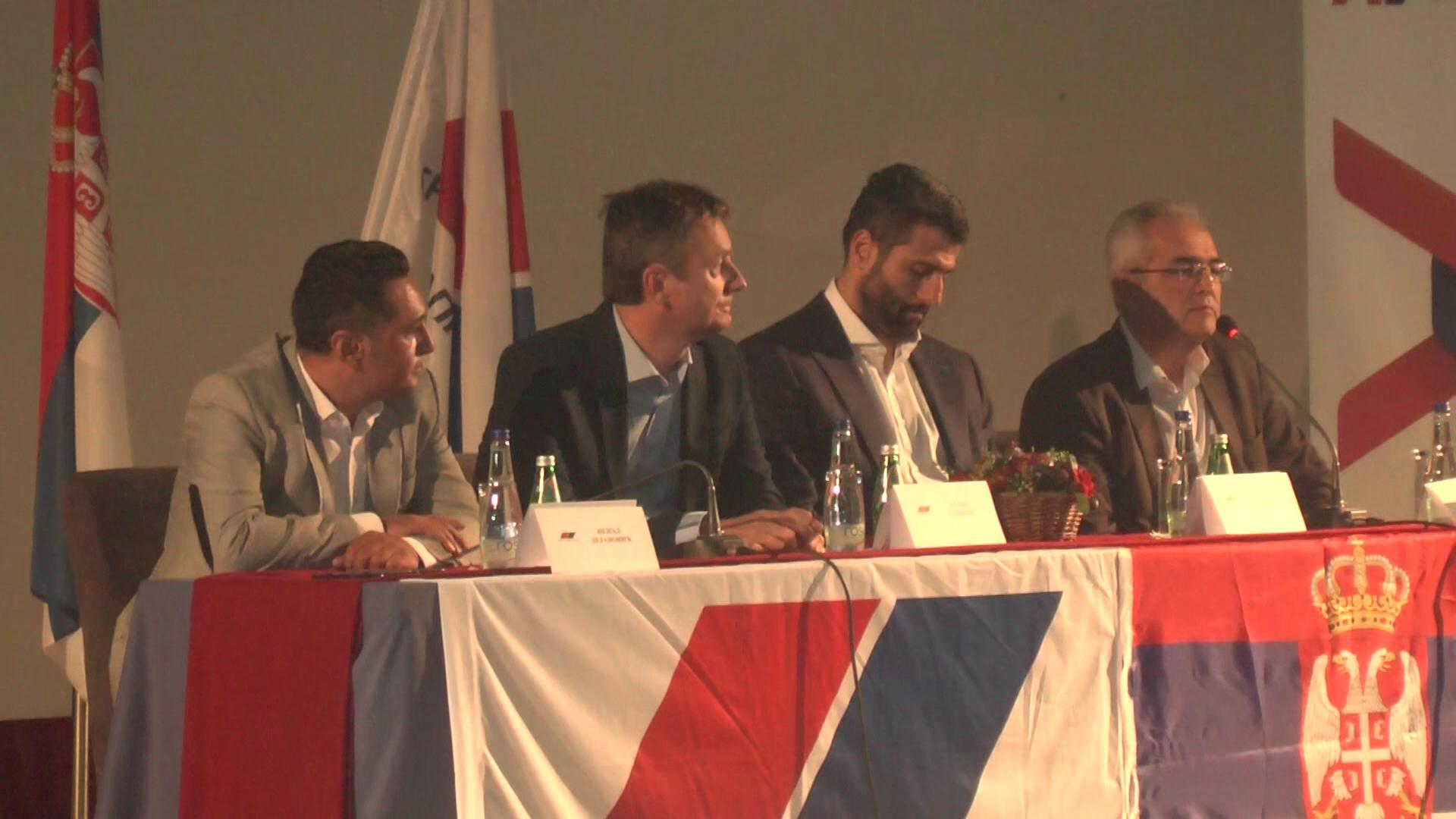 Aleksandar Šapić i Darko Glišić u Kruševcu održali radni sastanak sa članovima Srpske napredne stranke