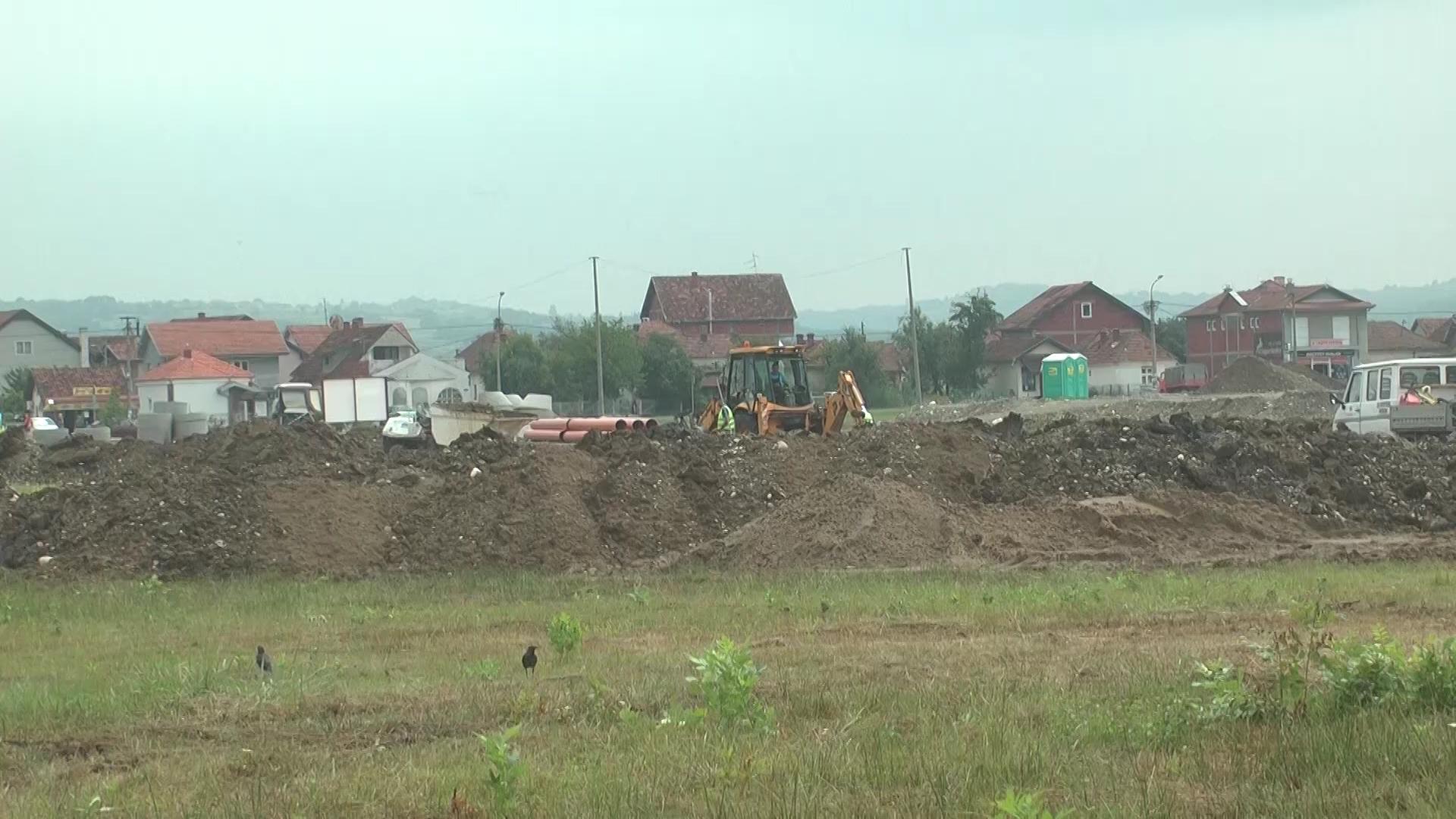 """U toku radovi na izgradnji pet ulica na lokaciji """"Stari aerodrom"""""""