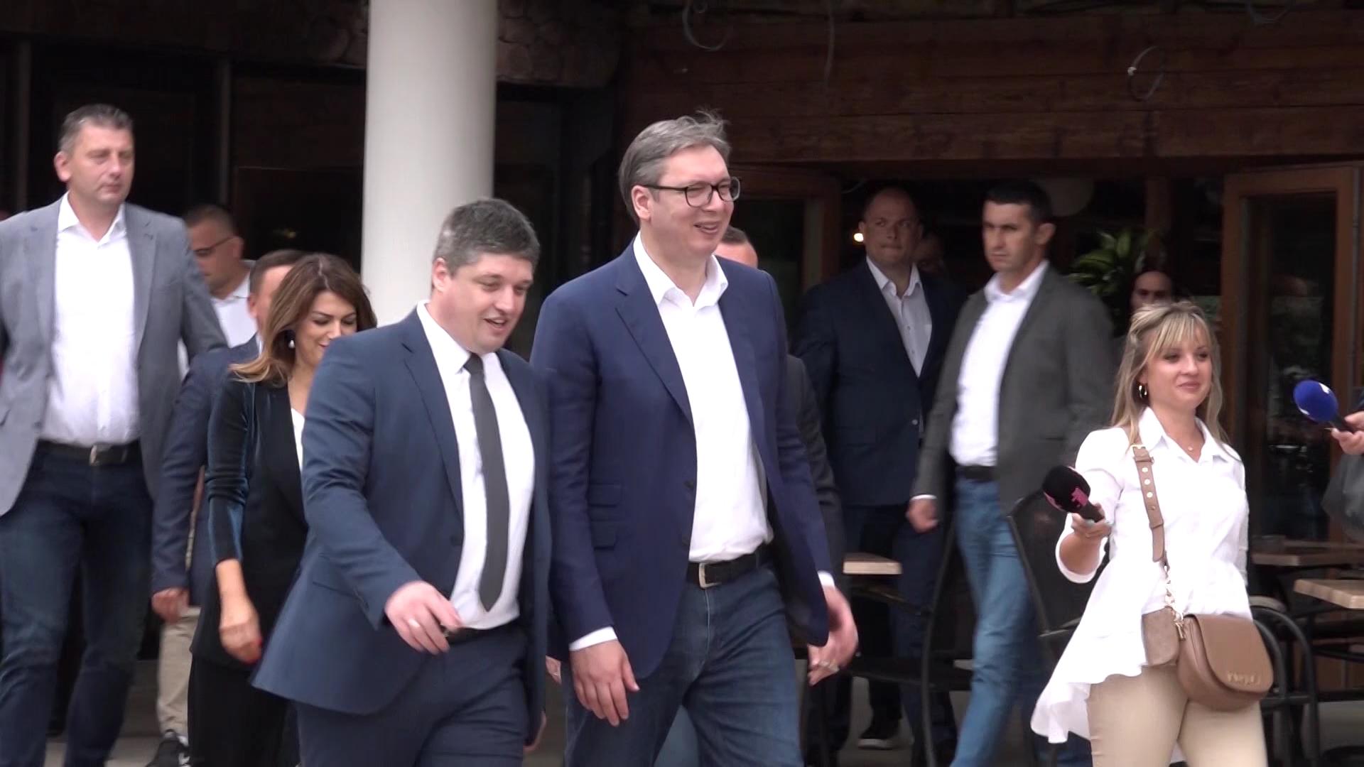 Predsednik Aleksandar Vučić u poseti Pomoravskom okrugu