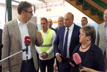Ministarka privrede Anđelka Atanasković u Brusu sa privrednicima