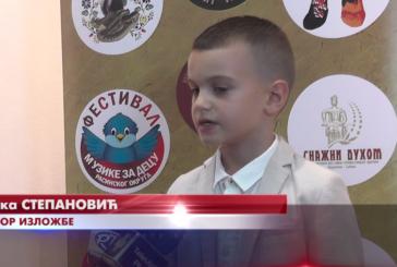 Otvorena samostalna izložba šestogodišnjeg Luke Stepanovića