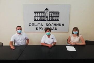 """Kompanija """"Kromberg & Schubert Srbija"""" donirala Opštoj bolnici Kruševac opremu za stabilno napajnje električnom energijom"""