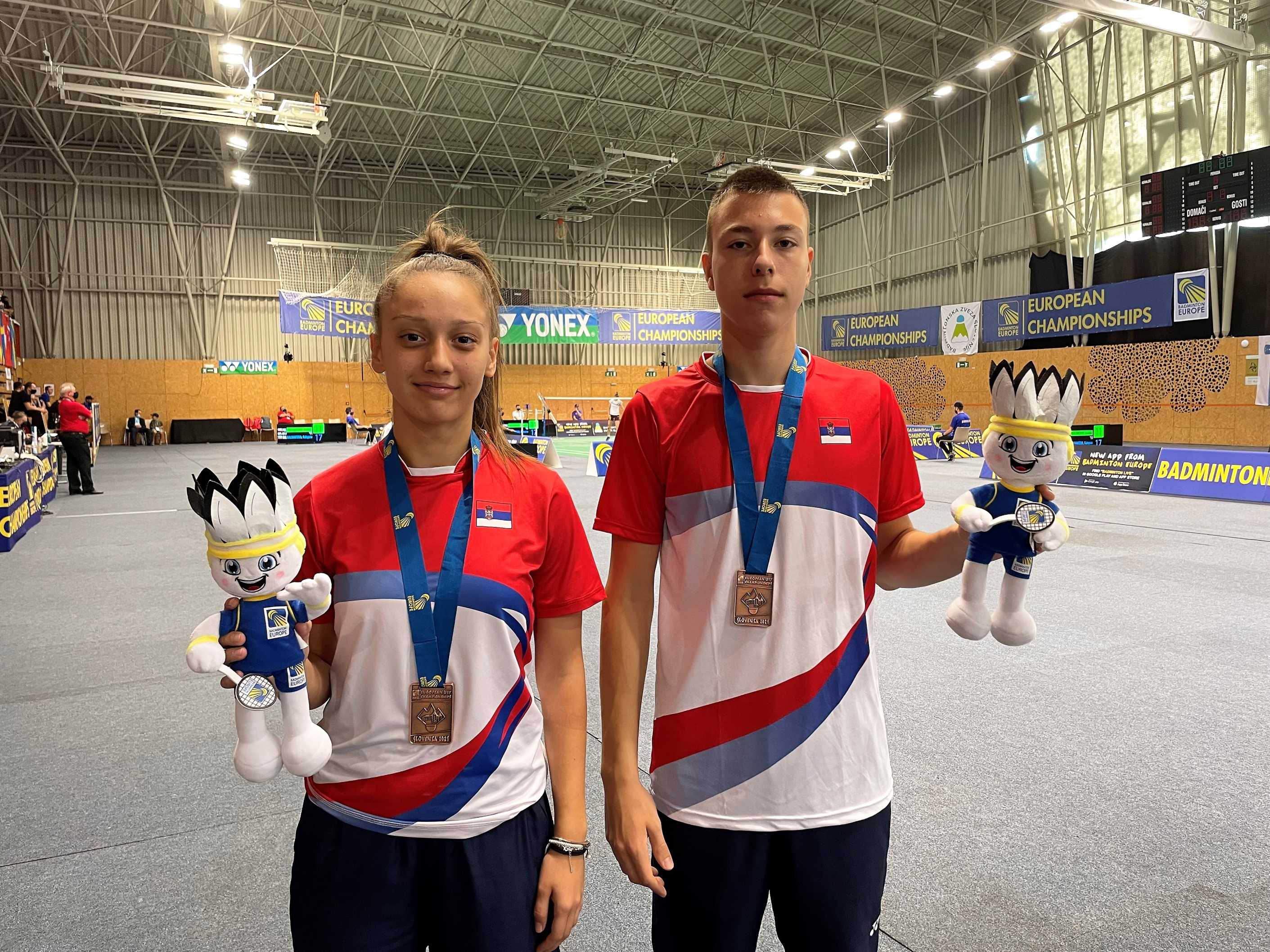 Kruševačkom badmintonisti Viktoru Petroviću bronzana medalja na Evropskom prvenstvu!