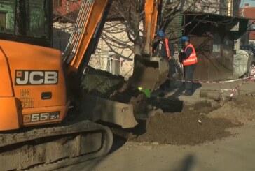 Radovi na rekonstrukciji Bivoljske ulice od Balkanske do Vidovdanske