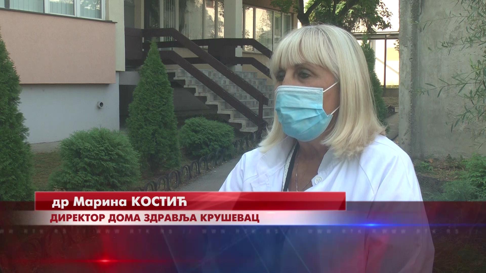 U Kruševcu se pogoršava epidemijska situacija, porast broja pregleda u Kovid ambulantama i za decu i za odrasle