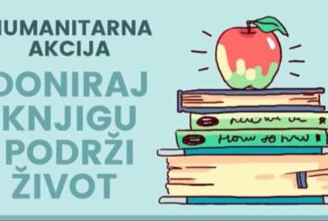 """U Trsteniku organizovana humanitarna akcija """"Doniraj knjigu, podrži život"""""""