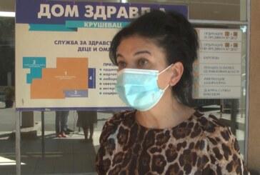 U Kruševcu do sada protiv virusa korona vakcinisan mali broj dece uzrasta od 12 do 15 godina