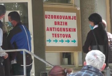 Prema poslednjim podacima u Rasinskom okrugu 179 novoobolelih od koronavirusa – u Kruševcu 94, Aleksandrovcu 33, u Trsteniku 31