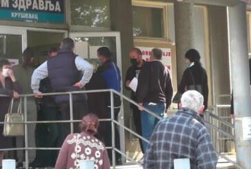 Prema poslednjim podacima od koronavirusa u Rasinskom okrugu obolele još 202 osobe – u Kruševcu 110, u Trsteniku 41