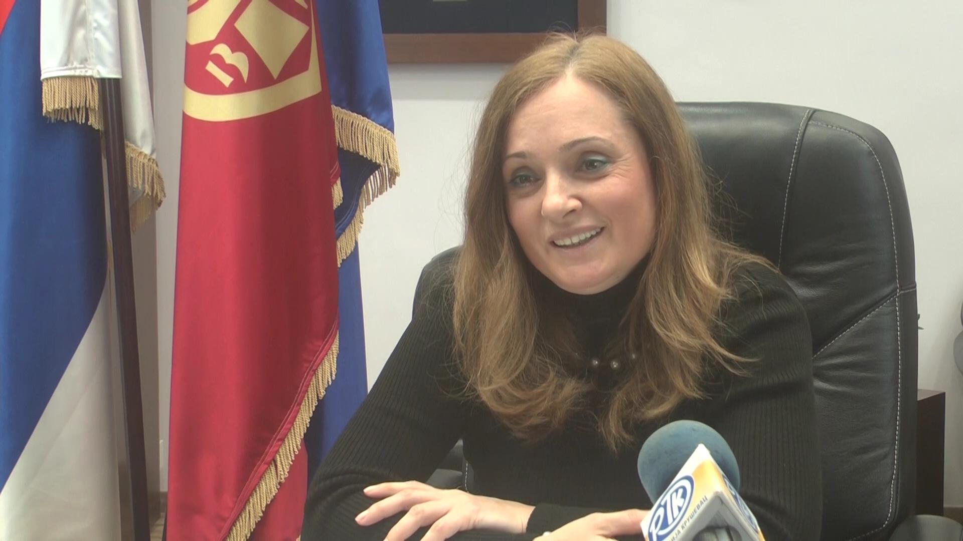Gradonačelnica Kruševca Jasmina Palurović čestitala sugrađanima Dan srpskog jedinstva, slobode i nacionalne zastave