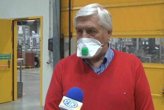 Epidemiolog dr Branislav Tiodorović održao predavanje u kompaniji Kromberg i Šubert u Kruševcu