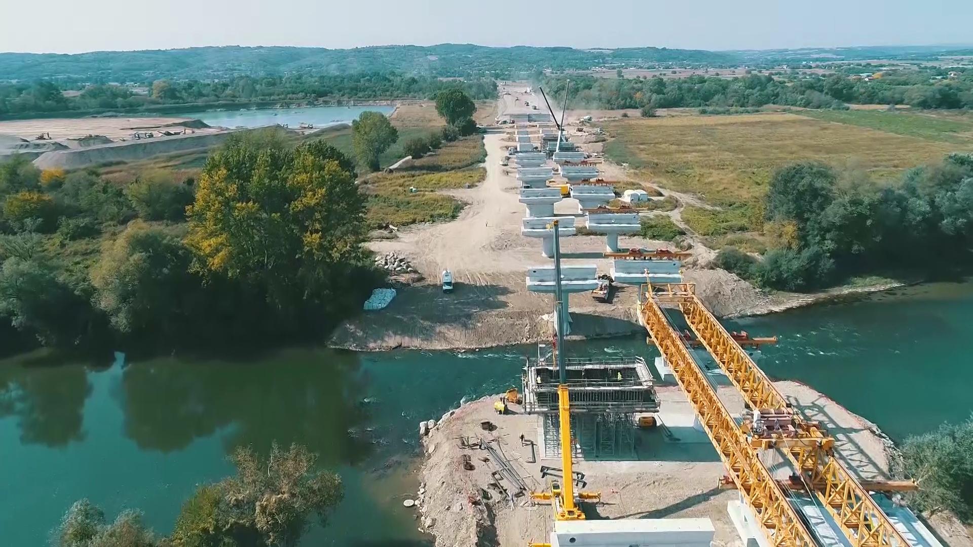 MORAVSKI KORIDOR, trenutno jedno od najvećih gradilišta u Srbiji