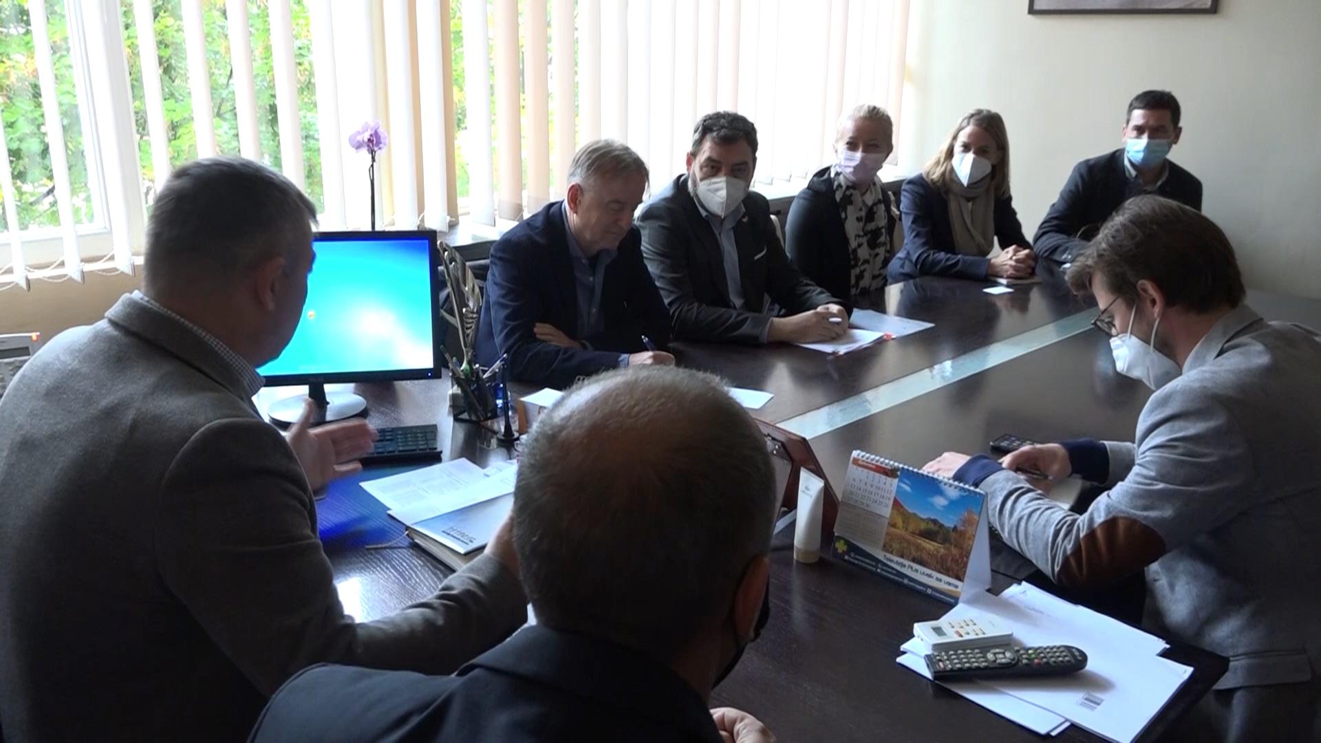 Delegacija nemačkog Ministarstva za privrednu saradnju i razvoj u poseti Kruševcu i Varvarinu
