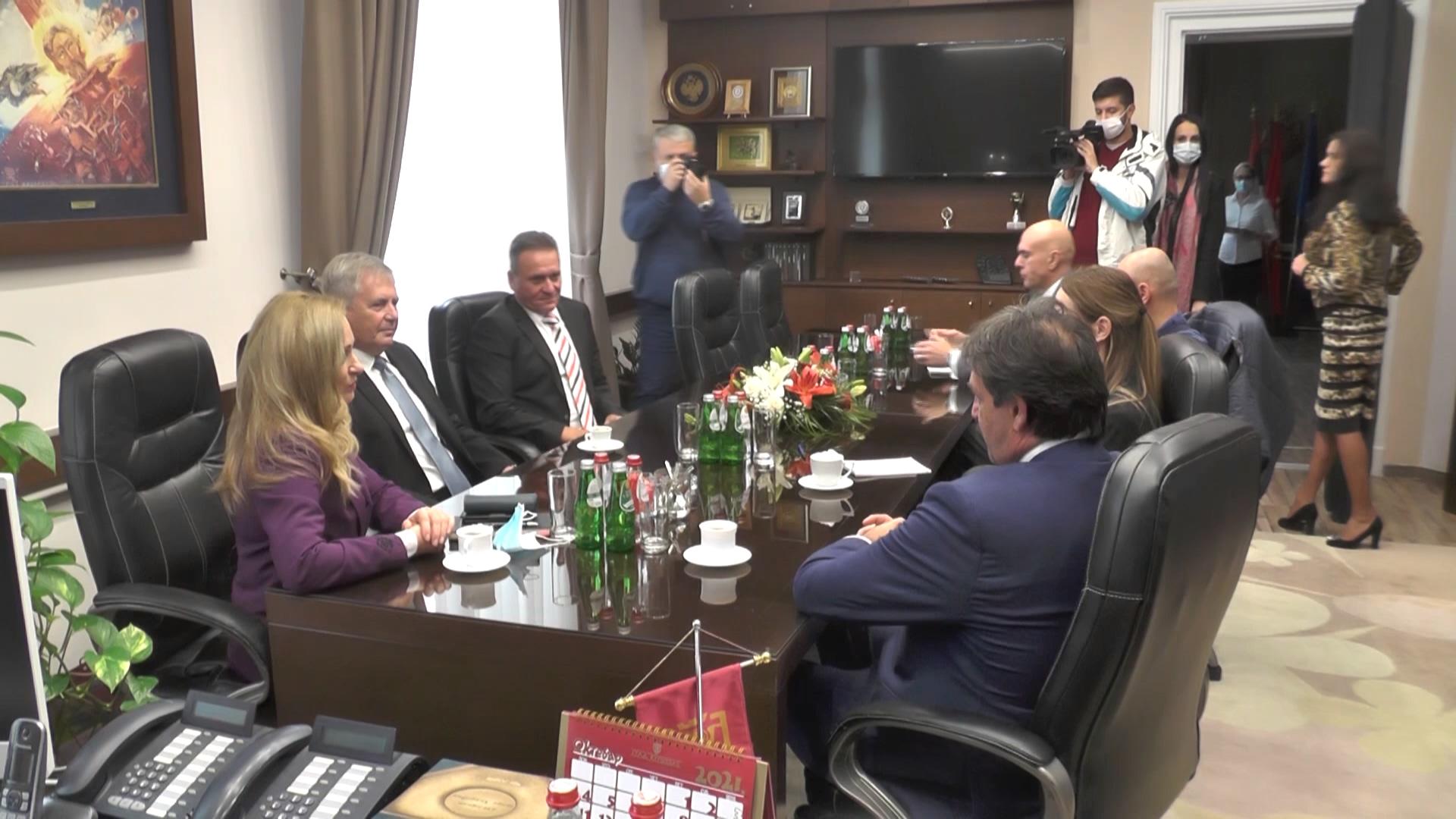 Gradonačelnica Kruševca priredila prijem za ambasadora Slovačke Fedora Rosoha