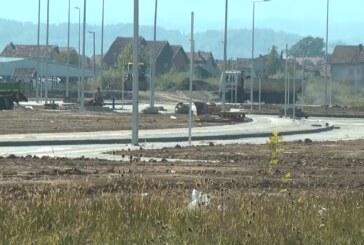 """U okviru izgradnje """"Centra 3"""" na Starom aerodromu urađeno pet novih saobraćajnica"""