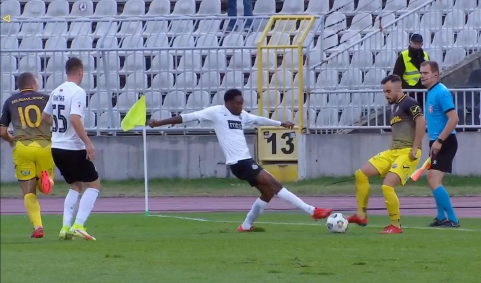 Šesnaestina finala fudbalskog Kupa Srbije – Trajal izgubio od Partizana sa 3:0