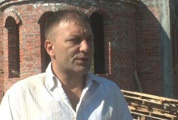 Izgradnja crkve u selu Jošje