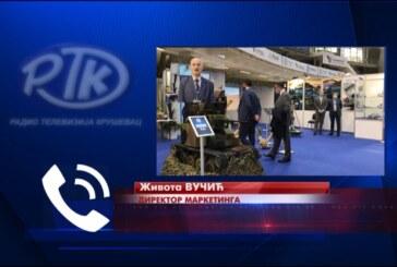 Na Sajmu naoružanja proizvodni program predstavila PPT NAMENSKA AD TRSTENIK